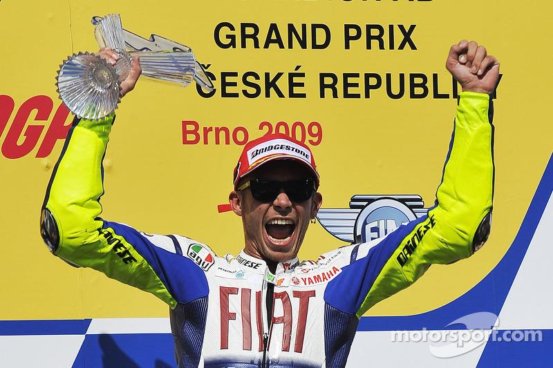 Plus grand nombre de victoires 500cc/MotoGP : 5