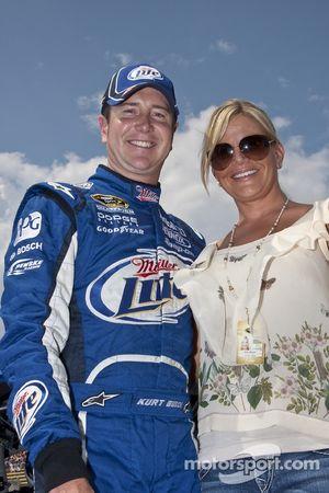 Kurt Busch et sa femme eva