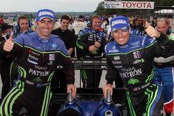 Race winners David Brabham and Scott Sharp