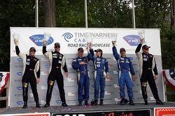 Challenge podium