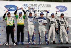 P2 podium