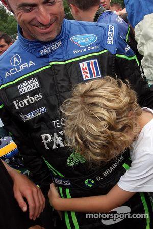 David Brabham and son