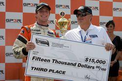 Podium: third place Jonathan Summerton, Newman Wachs Racing