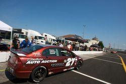 Pit stop for #27 Bill Fenton Motorsports Honda Civic SI: Bret Spaude, David Thilenius