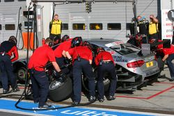 Essai de pitstop de Martin Tomczyk, Audi Sport Team Abt Audi A4 DTM