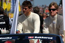 Tomas Kostka, Kolles TME, Audi A4 DTM and Christian Bakkerud, Kolles TME, Audi A4 DTM