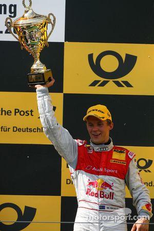Podium: troisième place pour Mattias Ekström, Audi Sport Team Abt