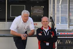 Arno Zensen and Dr. Wolfgang Ullrich, Audi's Head of Sport