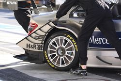 Wheel on the car of Bruno Spengler, Team HWA AMG Mercedes AMG Mercedes C-Klasse