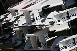 BMW Sauber F1 Team front wings