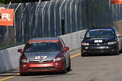 #27 Bill Fenton Motorsports Honda Civic SI: Bret Spaude, David Thilenius