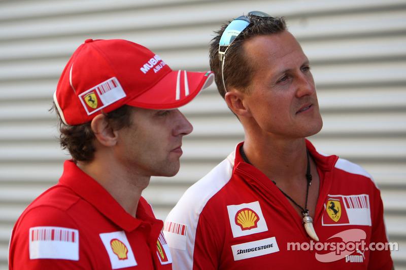 Luca Badoer, Scuderia Ferrari, Michael Schumacher, Test Pilotu, Scuderia Ferrari
