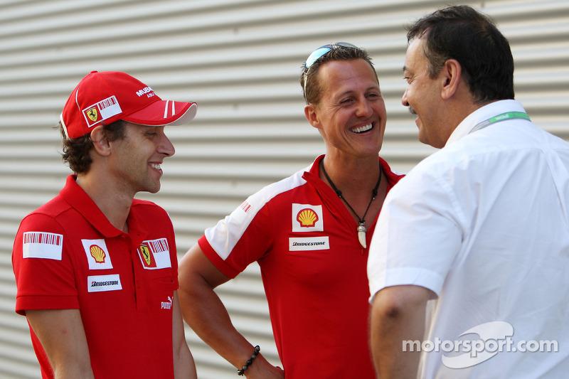 Luca Badoer, Scuderia Ferrari, Michael Schumacher, Test Pilotu, Scuderia Ferrari, Joan Villadelprat
