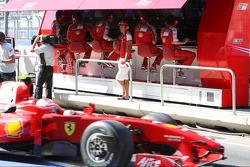 Michael Schumacher, Test Driver, Scuderia Ferrari, Kimi Raikkonen, Scuderia Ferrari