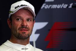 FIA press conference: third place Rubens Barrichello, Brawn GP