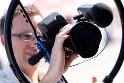 A FOM Camera man at work