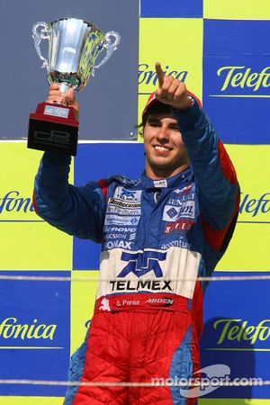 Sergio Perez, Arden International