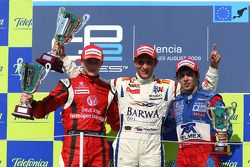 Nico Hulkenberg, ART, Vitaly Petrov, Barwa Addax Team and Sergio Perez, Arden International