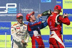 Sergio Perez, Arden International, Nico Hulkenberg, ART and Vitaly Petrov, Barwa Addax Team