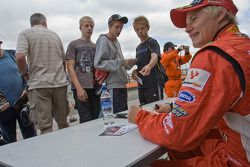 Autograph session: Sebastian Hohenthal