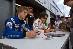Autograph session: Milos Pavlovic and Jack Clarke