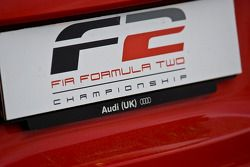 F2 logo on pace car