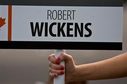 Panneau de Robert Wickens