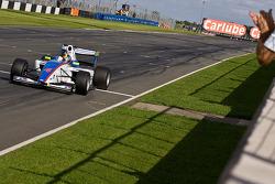 Julien Jousse wins his first race