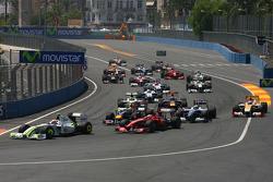 Start: Rubens Barrichello, Brawn GP