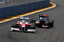 Jarno Trulli, Toyota F1 Team, Jaime Alguersuari, Scuderia Toro Rosso