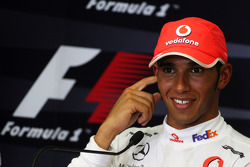 Press conference: Lewis Hamilton, McLaren Mercedes