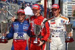 Nico Hulkenberg, ART, Sergio Perez, Arden International and Vitaly Petrov, Barwa Addax Team
