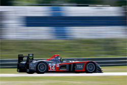 #14 Kolles Audi R10 TDI: Andrew Meyrick, Narain Karthikeyan, Charles Zwolsman