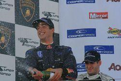 Daniel Ricciardo et Walter Grubmuller