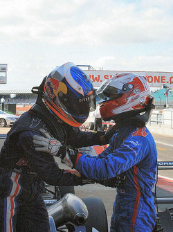 Daniel Ricciardo et Daisuke Nakajima