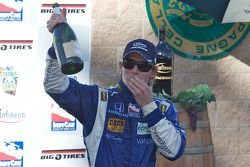 Podium: Mike Conway, Dreyer & Reinbold Racing celebrates with champagne