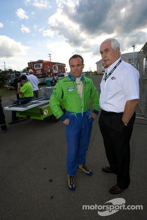 Nic Jonsson et Roger Penske