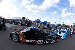 #12 Penske Racing Porsche Riley, sur la ligne de départ