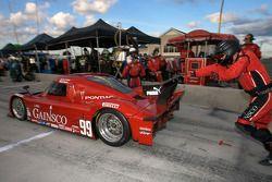 Arrêt au stand pour le #99 GAINSCO/ Bob Stallings Racing Pontiac Riley: Jon Fogarty, Alex Gurney