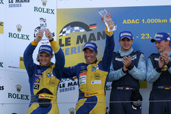 LMGT2 podium: second place Tom Coronel and Jarek Janis