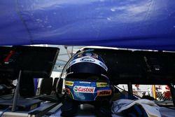 Le casque de Steven Richards, Ford Performance Racing
