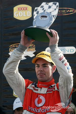 Craig Lowndes takes second
