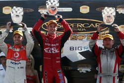 Podium: Craig Lowndes, Will Davison and Russell Ingall