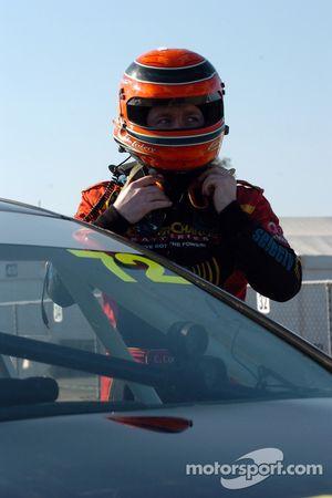 Colin Corkery prêt pour les essais
