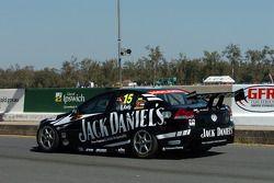 Rick Kelly down pit lane