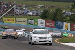 Pace car out during a full-course yellow