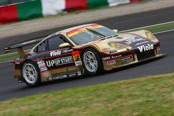 #26 Up Start Taisan Porsche: Haruki Kurosawa, Tsubasa Abe, Katsuhiko Tsutsui