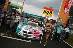 #808 Hatsune Miku Studie Glad BMW Z4: Yasushi Kikuchi, Shozo Tagahara, Taku Banba