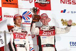 GT500 podium: third place Yuji Tachikawa and Richard Lyons