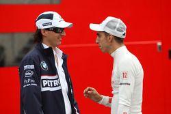 Robert Kubica, BMW Sauber F1 Team, Sebastien Buemi, Scuderia Toro Rosso
